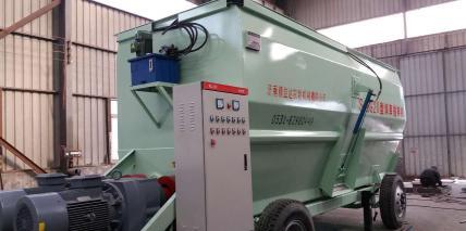 固定式TMR20立方搅拌机-带移动托盘